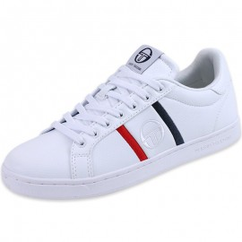 Chaussures Blanc Nizza Flag Homme Sergio Tacchini