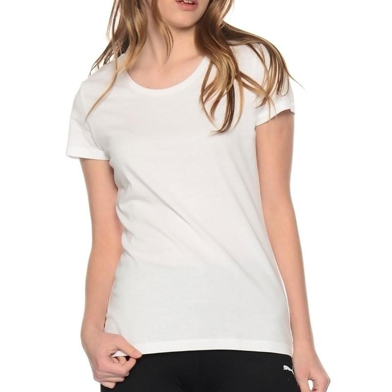 tee shirt bppo 1239 femme blanc puma t shirts. Black Bedroom Furniture Sets. Home Design Ideas