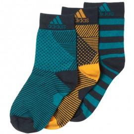 Chaussettes Garçon vert Adidas
