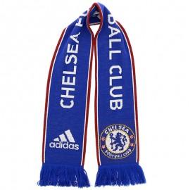 Echarpe Chelsea Football bleu Homme Adidas