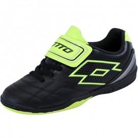 Chaussures Noir Spider 700 XIII Futsal Garçon Lotto
