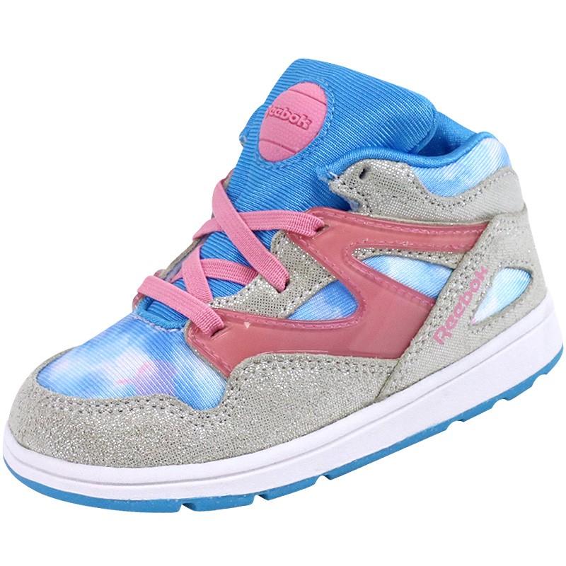 2baddf8d5aa Chaussures Montante Bleu Pump Cinderella Bébé Fille Reebok - Baskets