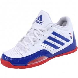 Chaussures Blanc 3 Series 2015 NBA K Basketball Garçon Adidas