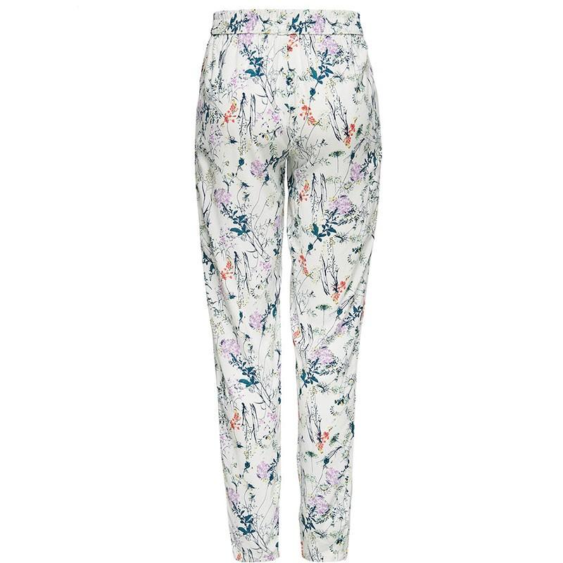 pantalon fluide epic blanc femme jacqueline de yong pantalons. Black Bedroom Furniture Sets. Home Design Ideas
