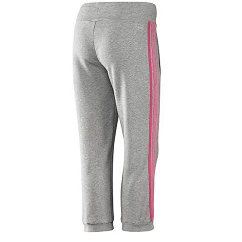 Pantalon 34 ESS 3S gris Entrainement Femme Adidas Pantacourts