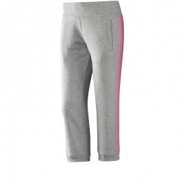 Pantalon 3/4 ESS 3S gris Entrainement Femme Adidas