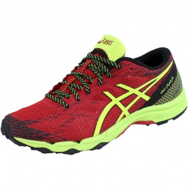 Chaussures Rouge Gel Fuji Lyte Trail/Running Homme Asics