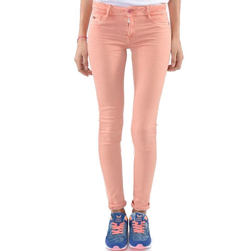 jean skinny power orange femme kaporal pantalons. Black Bedroom Furniture Sets. Home Design Ideas