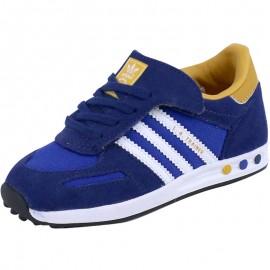 Chaussures Bleu LA Trainer Bébé Garçon Adidas
