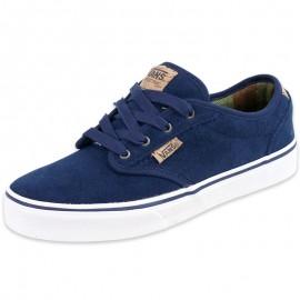 Chaussures Bleu Atwood Deluxe Garçon Vans
