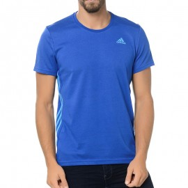 Tee Shirt Essential bleu Entrainement Homme Adidas