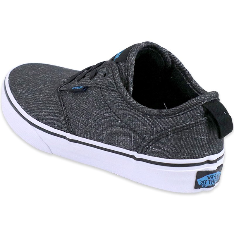 vans chaussures slip on gris