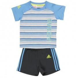 Ensemble SUM SET bleu Bébé Garçon Adidas