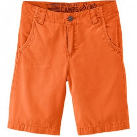 Bermuda Chino orange Garçon Camps