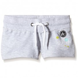 Short Gris Fille Camps