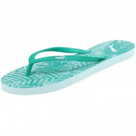Tongs First Flip Graphic Vert Femme Puma
