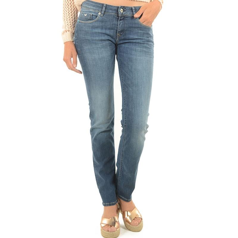 Jean WILDA Demi slim Bleu Femme Kaporal Pantalons