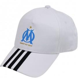 Casquette Olympique de Marseille Blanc Football Homme Adidas