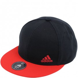 Casquette Snapback FLAT Rouge Homme Adidas
