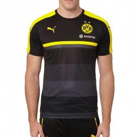Maillot Entrainement Borussia Dortmund Football Noir Garçon Puma