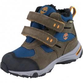 Chaussures Ossipee Mid 2 Strap Canteen Randonnée Marron Garçon Timberland