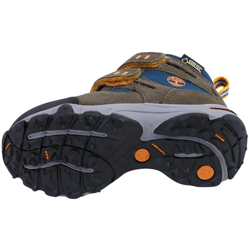 2 Ossipee Timb Canteen Mid Randonnée Strap Chaussures Marron Garçon zFq6w4nv