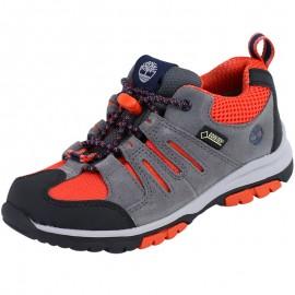 Chaussures Zip Trail Ox Gore-Tex Graphite Gris Garçon Timberland