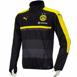 Sweat Borussia Dortmund 2016-2017 Football Noir Garçon Puma