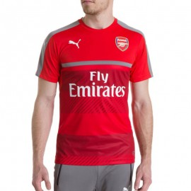 Maillot Entrainement Arsenal Football Rouge Homme Puma