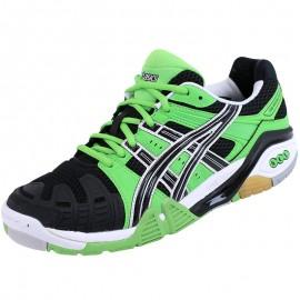 Chaussures Gel Cyber Power Sport en Salle Vert Homme Asics