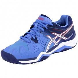 Chaussures Gel Resolution 6 Clay Tennis Bleu Femme Asics