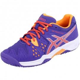 Chaussures Gel Resolution 6 Clay Tennis Bleu Garçon Asics