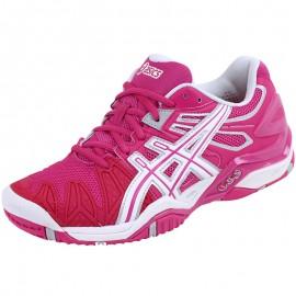 Chaussures Gel Resolution 5 Tennis Rose Femme Asics