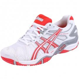 Chaussures Gel Resolution 5 Tennis Blanc Femme Asics