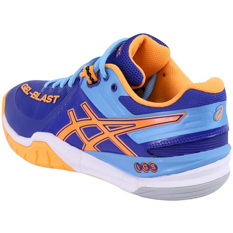 Chaussures Gel Blast 6 Handball Bleu Femme Asics