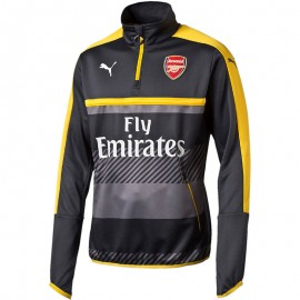 Sweat 1/4 Training Arsenal 2016-2017 Football Gris Homme Puma