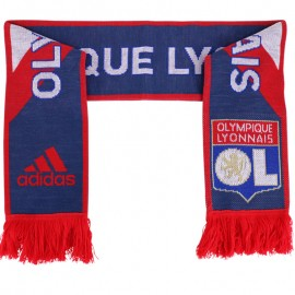Echarpe Olympique lyonnais Football Rouge Homme Adidas