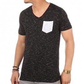 Tee shirt LILITA Noir Homme Biaggio