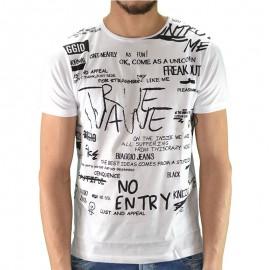 Tee shirt LOUTA Blanc Homme Biaggio