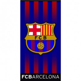 Serviette FC Barcelone Football Bleu Managal