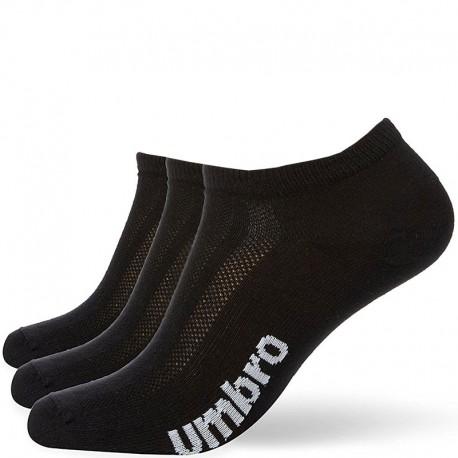 Chaussettes Pack 3 Sport Homme/Femme Noir Umbro