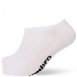 Chaussettes Pack 3 Sport Homme/Femme Blanc Umbro