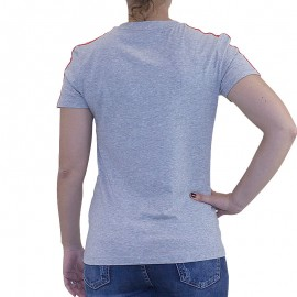 Tee shirt ESS 3S TEE Entrainement Gris Femme Adidas