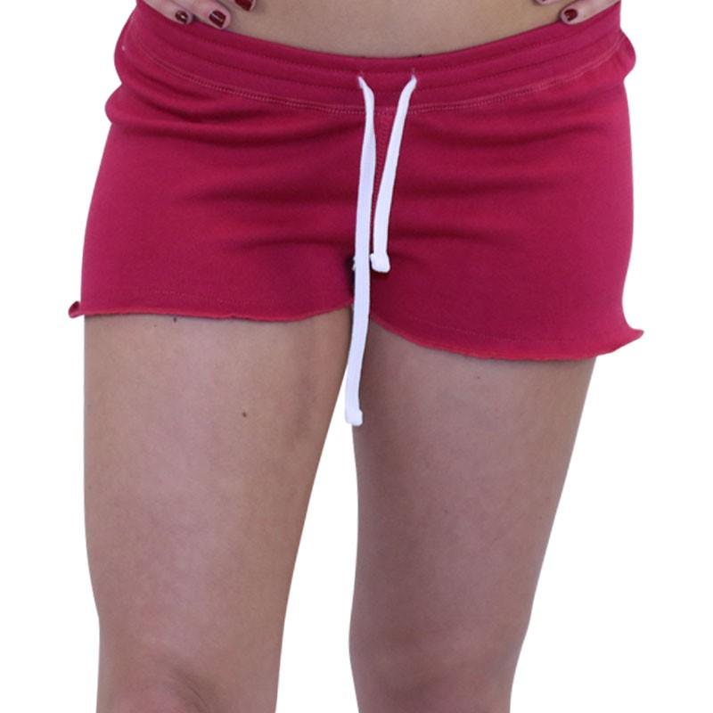 WaxxShorts Rose Femme En Short Molleton m80nNw