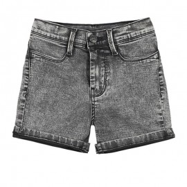Short Denim THE JEG Gris Fille Teddy Smith