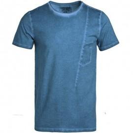Tee shirt T-RICK Bleu Homme Teddy Smith