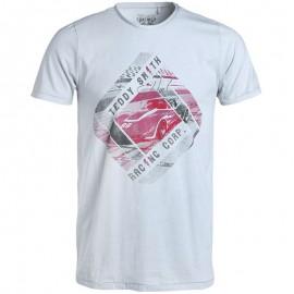 Tee shirt T-REVON Gris Homme Teddy Smith