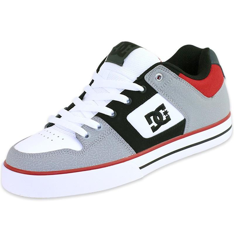 20c63ace8c Chaussures Pure Skateboard Gris Homme DC Shoes - Baskets