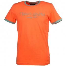 Tee shirt TICLASS3 Orange Garçon Teddy Smith