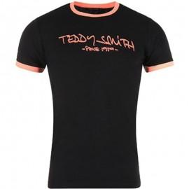 Tee shirt TICLASS3 Noir Garçon Teddy Smith